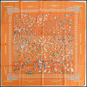 Hermes Libres Comme L'Air 90cm Silk Twill Scarf