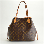 Louis Vuitton LV Monogram Neverfull MM Tote