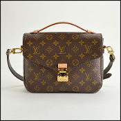 Louis Vuitton LV Monogram Canvas Pochette Metis Crossbody Bag