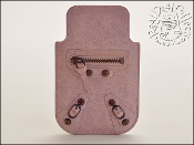 Balenciaga Pale Pink (Bois de Rose) Leather Phone Holder Case