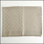 Louis Vuitton Verone (Taupe) Monogram Shawl