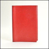 Hermes Red Leather Agenda Cover