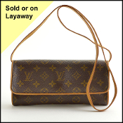 Louis Vuitton LV Monogram Twin Pochette GM