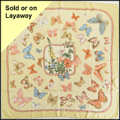 Hermes Light Yellow/Multicolor Farandole 90cm Silk Scarf