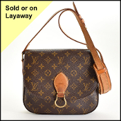 Louis Vuitton LV Monogram St. Cloud GM Crossbody Bag