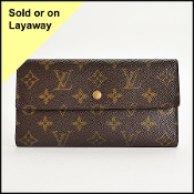 Louis Vuitton LV Monogram Trifold Wallet