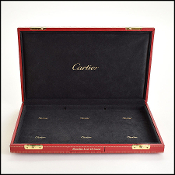 Cartier Red Love Bracelet Display Box