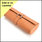 Rolex Tan Leather Watch Holder