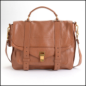 Proenza Schouler Saddle Brown Leather Large PS1 Bag
