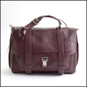 Proenza Schouler Bordeaux (Oxblood) Leather Large PS1 Bag