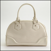 Louis Vuitton 2007 Ivory Epi Leather Montaigne PM Satchel