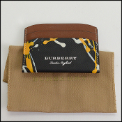 Burberry Multicolor Credit Card Holder