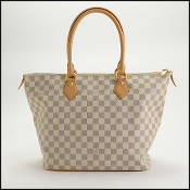 Louis Vuitton Damier Azur Saleya MM Handbag