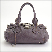 Chloe 2008 Rosewood Leather Paddington Bag