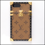 Louis Vuitton LV Monogram Reverse Eye Trunk for Iphone 7+