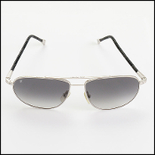 Louis Vuitton Damier Graphite Metal Frame Sunglasses