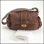Mulberry Brown Leather Shoulder Bag