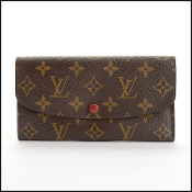 Louis Vuitton LV Monogram Portefeuille Emilie Long Wallet