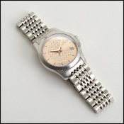 Gucci Rose Gold Diamante G-Face Stainless Steel Watch