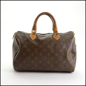 Louis Vuitton Vintage French Co. LV Monogram Speedy 30 Bag