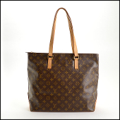 Louis Vuitton LV Monogram Cabas Mezzo Tote Bag
