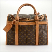 Louis Vuitton LV Monogram Sac Chien 40 Dog Carrier Bag