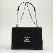 Louis Vuitton Black Epi Leather Twist GM Bag