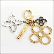 Louis Vuitton Gold/Silver Tapage Bag Charm