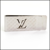 Louis Vuitton Silver Pansu Bie Champs Elysees Money Clip