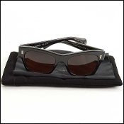 Oliver Peoples/The Row Black Frame 71st Street Sunglasses